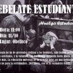 ¡Huelga Estudiantil! (11/10)