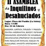 II Asamblea de Inquilinos y Desahuciados