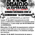 "Semana Solidaria con ""La Esperanza"""