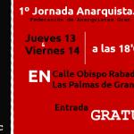 1º Jornada Anarquista.