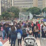 Los vecinos interceptan a la vicepresidenta del Gobierno de Canarias