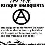 14-N: BLOQUE ANARQUISTA