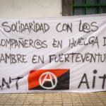 20 de agosto - Solidaridad con Chus y Xavi