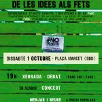 Evento en Sabadell. 1 de octubre de 2016