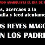 """Pequeño """"atentado"""" anarquista para el día de reyes"""