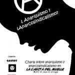 Charla sobre anarquismo en Arinaga