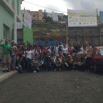 """La Comunidad """"La Esperanza"""" con las familias desahuciadas en Granadilla"""