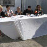 Crónica sobre la rueda de prensa en Los Barracones