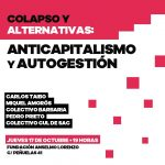 Colapso y alternativas: anticapitalismo y autogestión