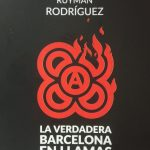 "Folleto: ""La verdadera Barcelona en llamas"""