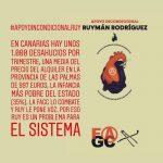 Solidaridad y apoyo a nuestro compañero Ruymán