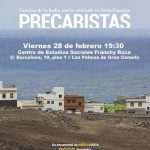 """Nueva proyección de """"Precaristas"""" en Las Palmas de Gran Canaria"""