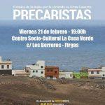 """Proyección de """"Precaristas"""" en Firgas"""