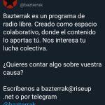 """Nuevo programa de """"Basterrak"""" con la participación de Sandra y Jonathan"""